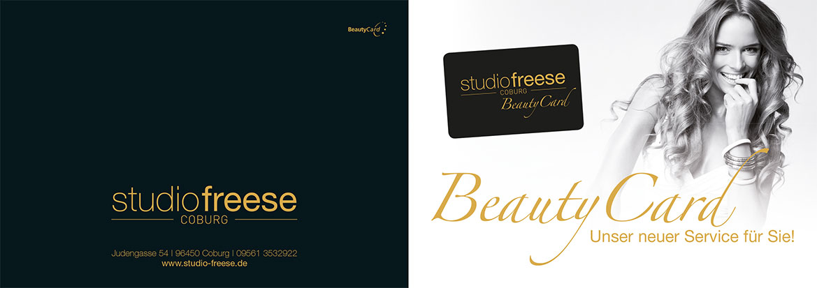 Studio Freese Coburg BeautyCard